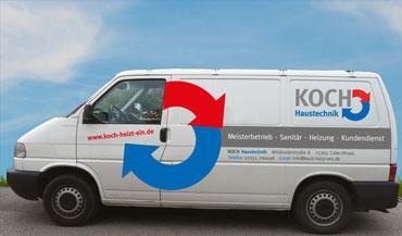 Koch haustechnik sanit r heizung kundendienst for Koch haustechnik